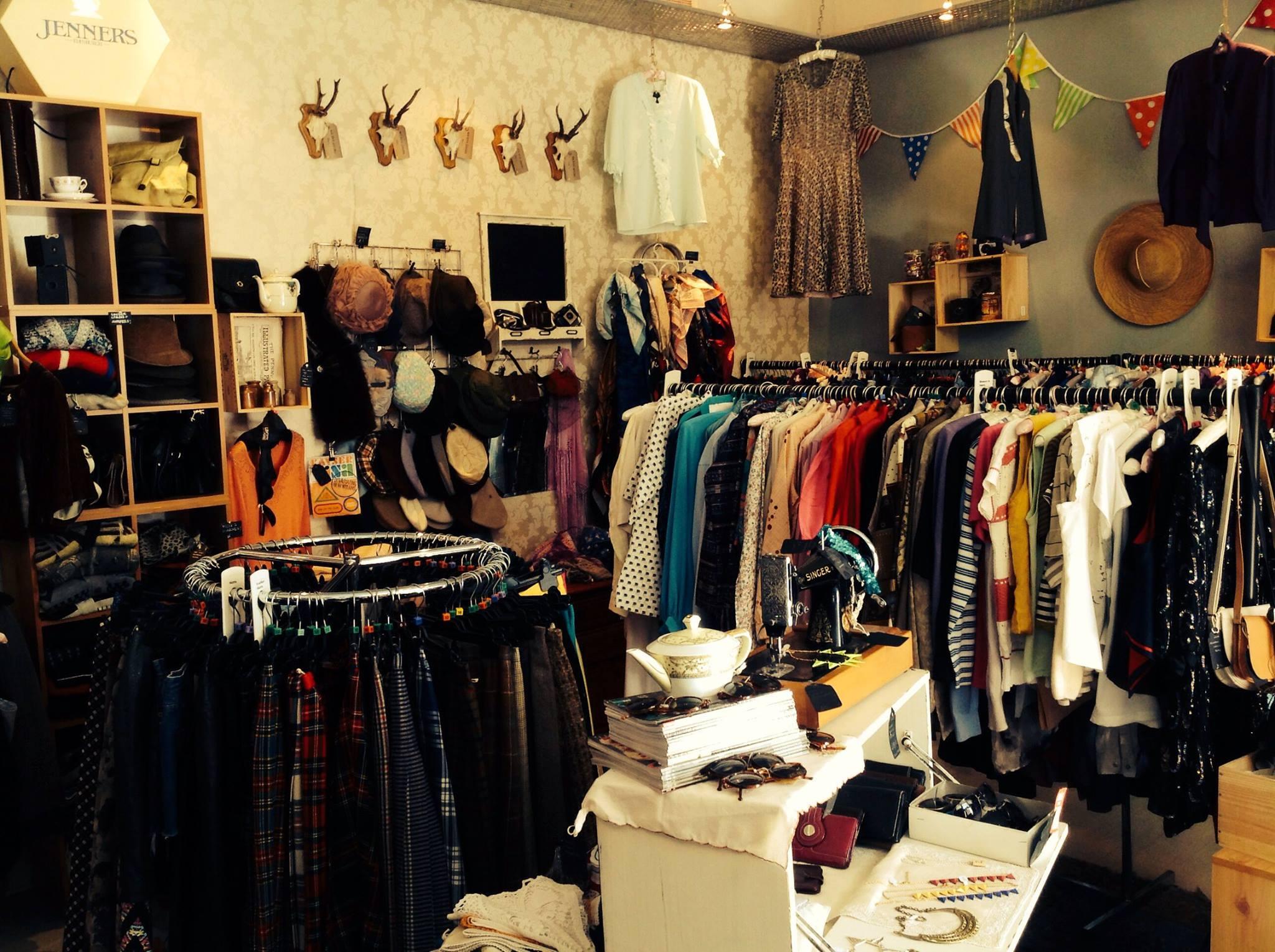 Online vintage clothing shops