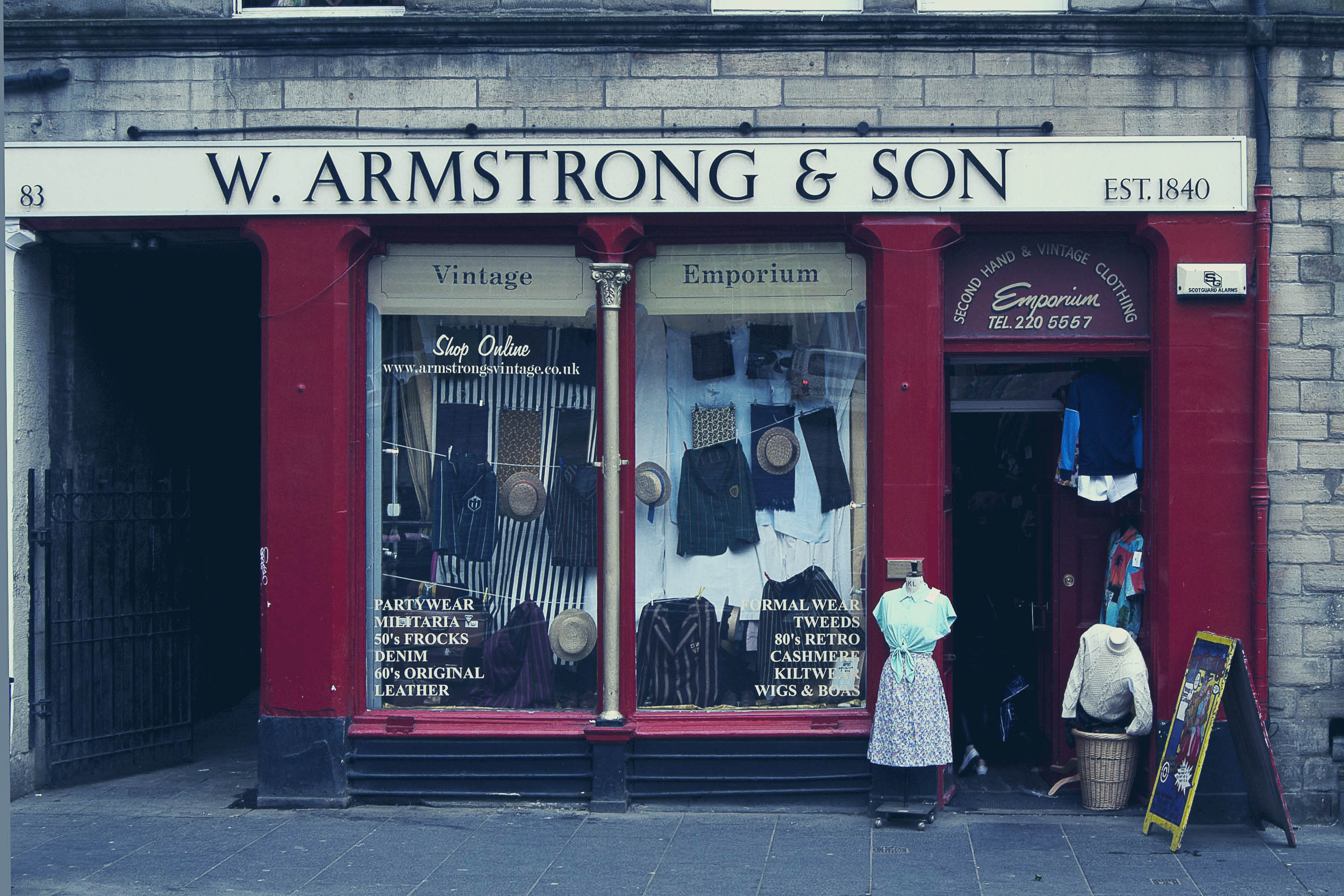 Best List of fashion shops in edinburgh