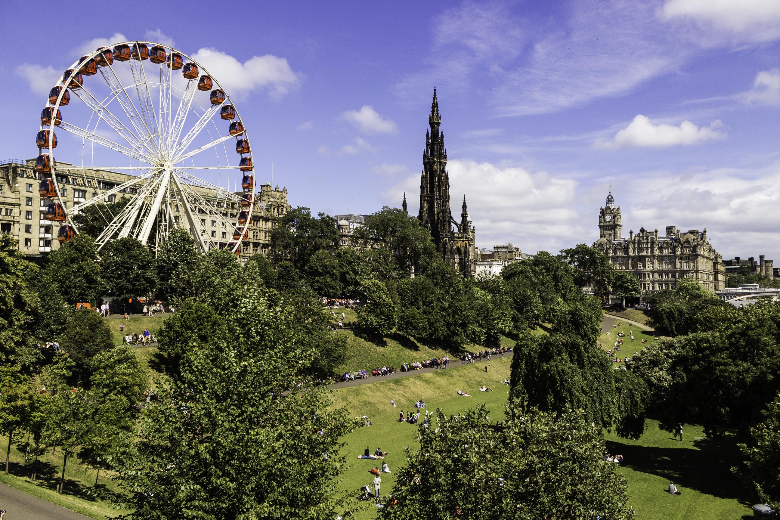 Edinburgh in July