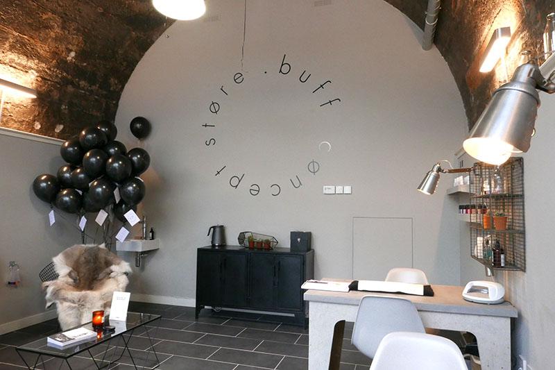 Buff concept store the arches edinburgh