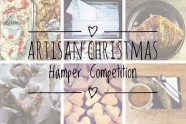 Artisan Christmas hamper giveaway