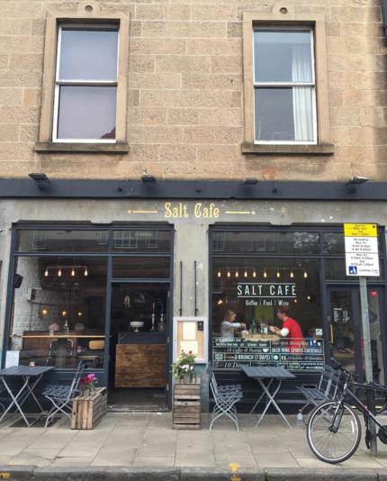 Salt Cafe Edinburgh