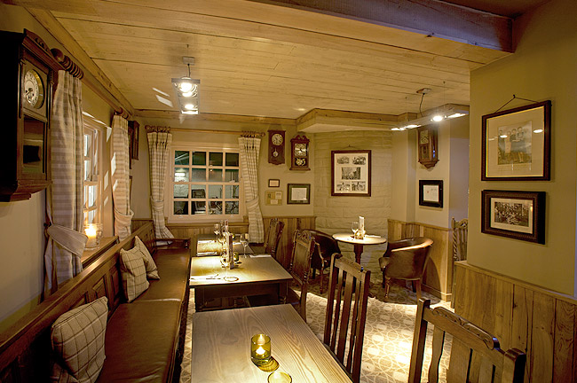 The Sheep's Heid is such a cosy place.