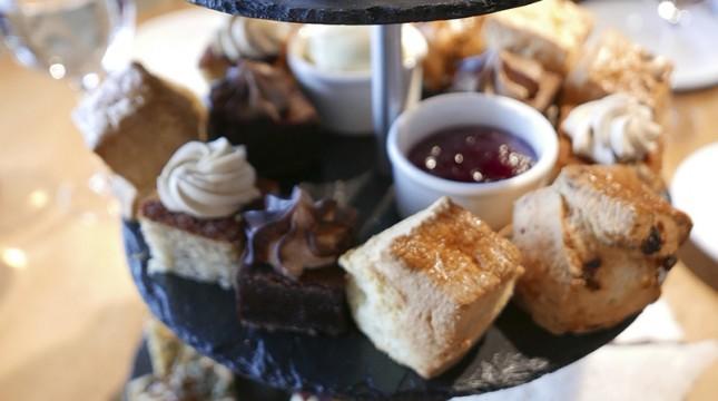 tower restaurant afternoon tea Edinburgh
